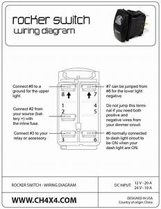 Rocker Switch On Off Spst 1 Ind Lamp And Carling Wiring Diagram  U2013 Volovets Info
