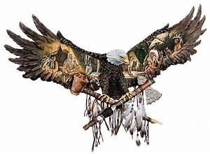 drawings of american bald eagles | WALL ART - NATIVE ...