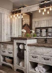 9, Beautiful, Rustic, Barn, Bathroom, Design, Ideas, Rusticbarnwoodbathroomvanity