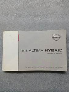 2011 Nissan Altima Hybrid Owner U0026 39 S Manual Guide Book  62