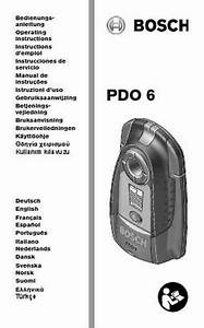 Bosch Pdo 6 Others Download Manual For Free Now