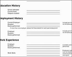 6 Outline Template Online