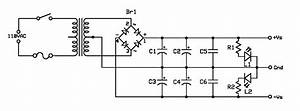 power supplies buildaudioamps With power supply circuitscircuit schematics diagrams and projects