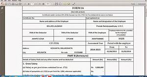 Download automated form 16 part b and part a and b which for Part p document download