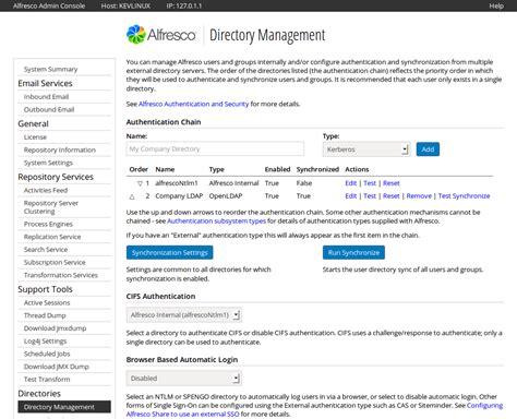 Alfresco Workflow Console by Alfresco Repository Admin Console Alfresco Community