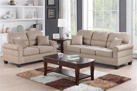 Fabric Loveseat Sofa by Brown Fabric Sofa And Loveseat Set A Sofa