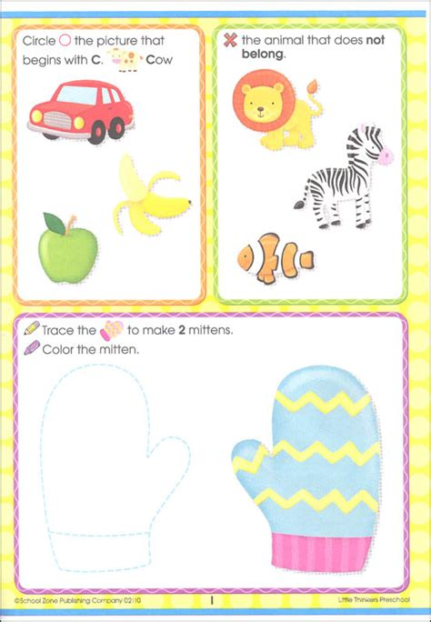 little thinkers preschool thinkers preschool 32 pages 059286 details 929