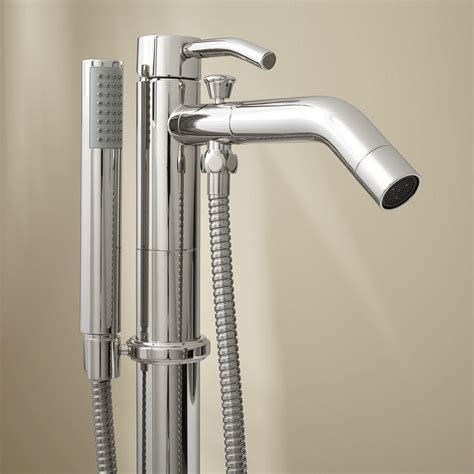 free standing tub faucet caol freestanding tub faucet with handshower ebay