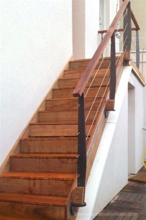 garde corps d escalier rambarde balustrade re d escalier et garde corps en bois et m 233 tal