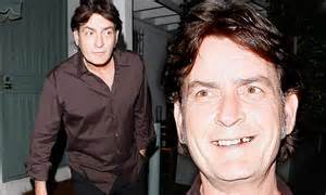 Charlie Sheen is half the man he used to be with grey ...