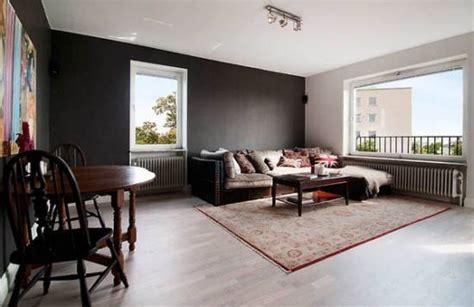 Schwarze Wand Wohnzimmer by 21 Black Wall Living Room Ideas Ultimate Home Ideas