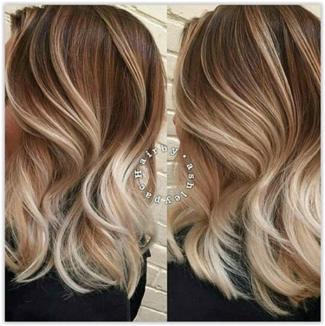 Ombré Hair Blond Polaire Ombre Hair Et M 232 Ches Miel 20 Mod 232 Les Impressionnants Coiffure Nouveau Cheveux