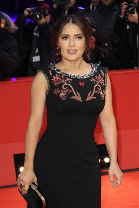 salma hayek attends  roads   premiere