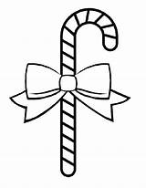 Candy Cane Coloring Pages Printable sketch template