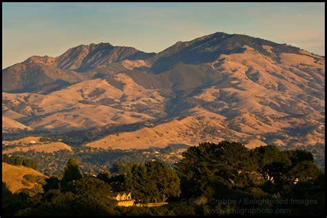photo sunset light  mount diablo  lafayette