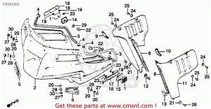 Honda Gl1100a Goldwing Aspencade 1982  C  Usa Fairing