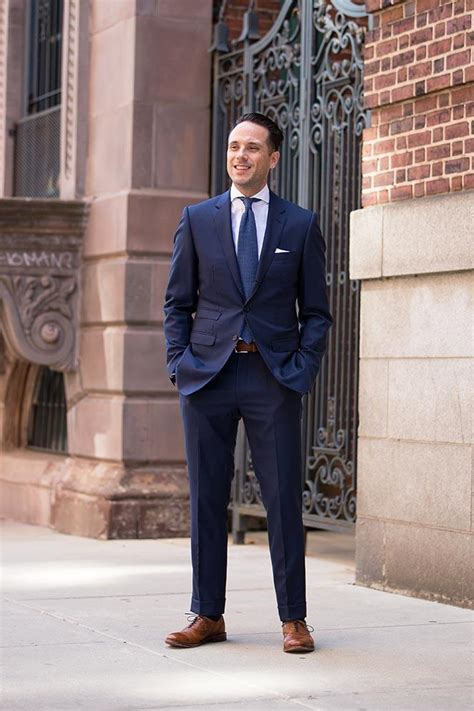 what color shoes with blue suit 20 ways to wear blue suits with brown shoes ideas for
