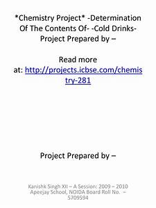 Chemistry Projects For College Students Online Essay Help Chat  Chemistry Central Community College