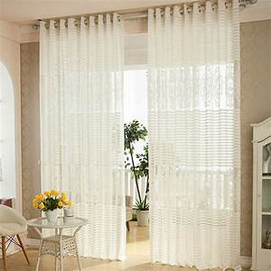 Luxury curtains for living room white curtain summer style for Simple curtain patterns