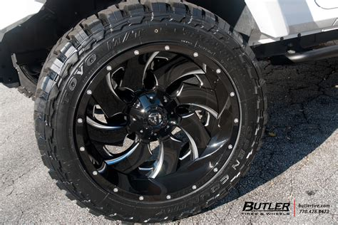 jeep wrangler   fuel cleaver wheels exclusively