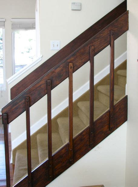 banister redo  general finishes stain  java