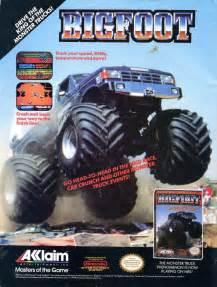bigfoot monster truck game bigfoot it s a multiplayer monster truck racing game