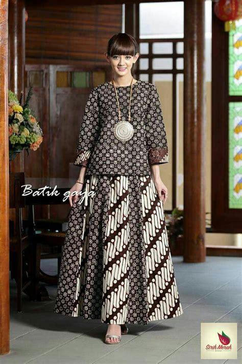 anggun dgn batik   model pakaian muslim model