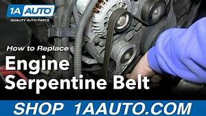 How To Replace Serpentine Belt 95-98 Chevy Tahoe