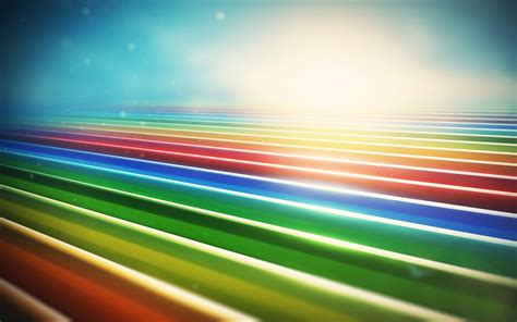 color pattern stripes rows light rainbow wallpaper