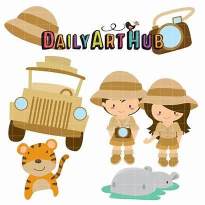 Safari Adventures Clip Adventure Silhouette Dailyarthub Nature