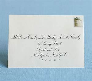 How to address wedding invitations for Wedding invitations single envelope etiquette