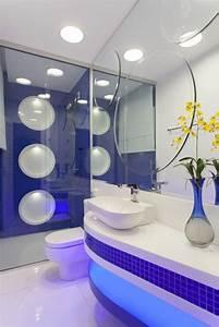 1001 idees pour amenager une petite salle de bain des With salle de bain design avec bandes décoratives pour auto