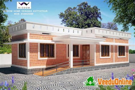 1000 Sq Ft House Plans 2 Bedroom Indian Style by Single Floor Kerala Home Design 800 Square Feet