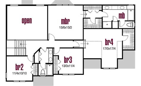 country house plan  bedrooms  bath  sq ft plan