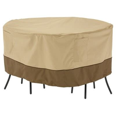 target cafe table and chairs veranda patio bistro round table and chair cover 52 quot dia