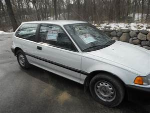 1991 Honda Civic Hatchback 4 Speed Manual Transmission