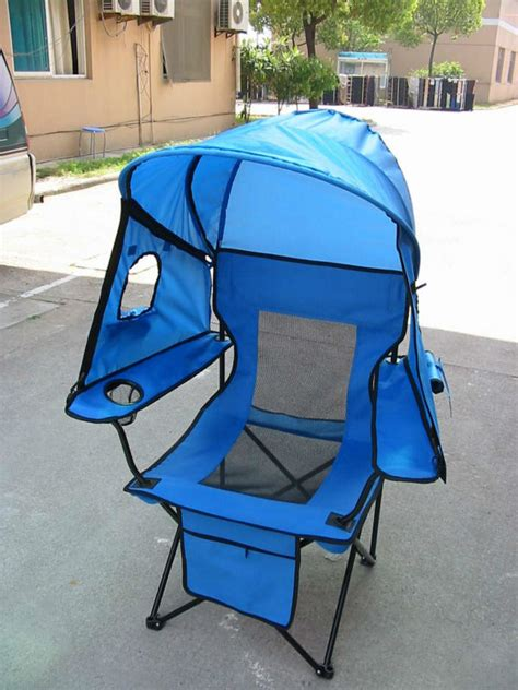 kmart chairs with canopy folding cing chair with canopy and window holes images