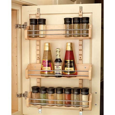 kitchen cabinet door storage racks rev a shelf 25 in h x 16 125 in w x 4 in d large 7801