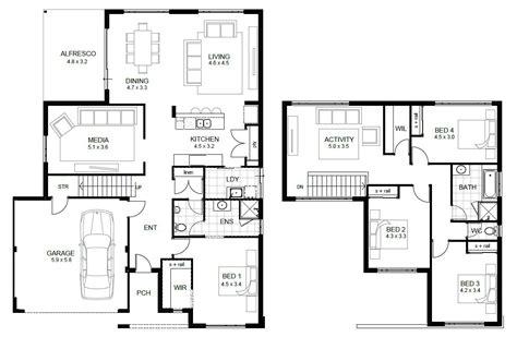floor plan designer 2 floor house plans and this 5 bedroom floor plans 2 story