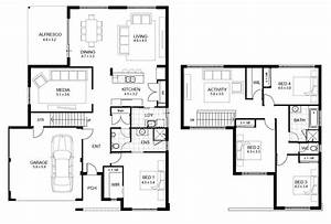 2 floor house plans and this 5 bedroom floor plans 2 story With home design with floor plan