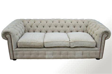 sofa con respaldo sinonimo sof 225 chesterfield 3 cuerpos en lino chesterman 237 a