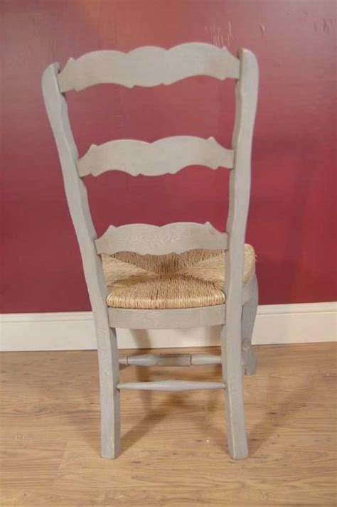 English Farmhouse Painted Ladderback Chair & Kitchen