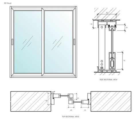 Technische Zeichnung Fenster by Aluminium Sliding Window Reliance Homereliance Home