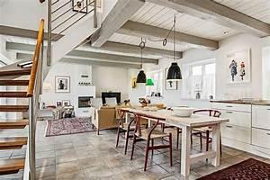 idee decoration cuisine le charme de la cuisine scandinave With idee deco cuisine avec decoration interieur style scandinave