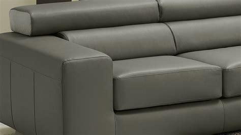 canapé d angle en cuir gris canapé d 39 angle réversible en cuir gris pas cher canapé