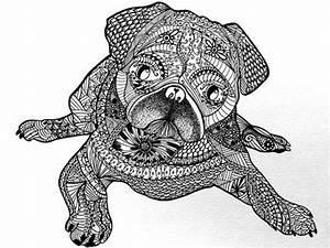 Hunde Ausmalbilder Fr Erwachsene Kostenlos Zum Ausdrucken