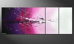 Wandbilder Xxl Mehrteilig : das mehrteilige wandbild cosmic splash 210x80cm wandbilder xxl ~ Markanthonyermac.com Haus und Dekorationen