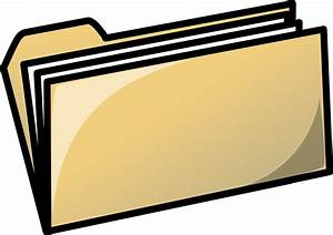 Image vectorielle gratuite dossier bureau fichiers for Images gratuites documents