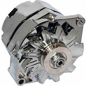 200amp Alternator Fits Ford Falcon Mustang Hotrod Chrome