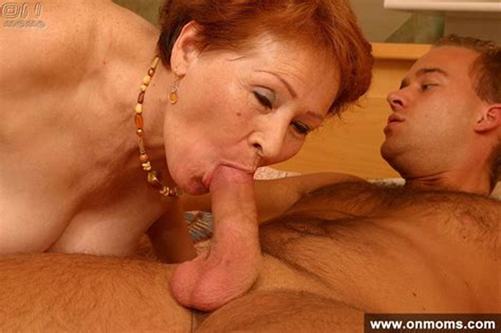 #Mature #Redhead #Mom #Susanna #Sucking #Younger #Cock #And #Rides
